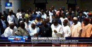 Video: Northern Leaders Advice Governor Ortom To Cooperate With FG Over Herdsman/Farmers Crisis